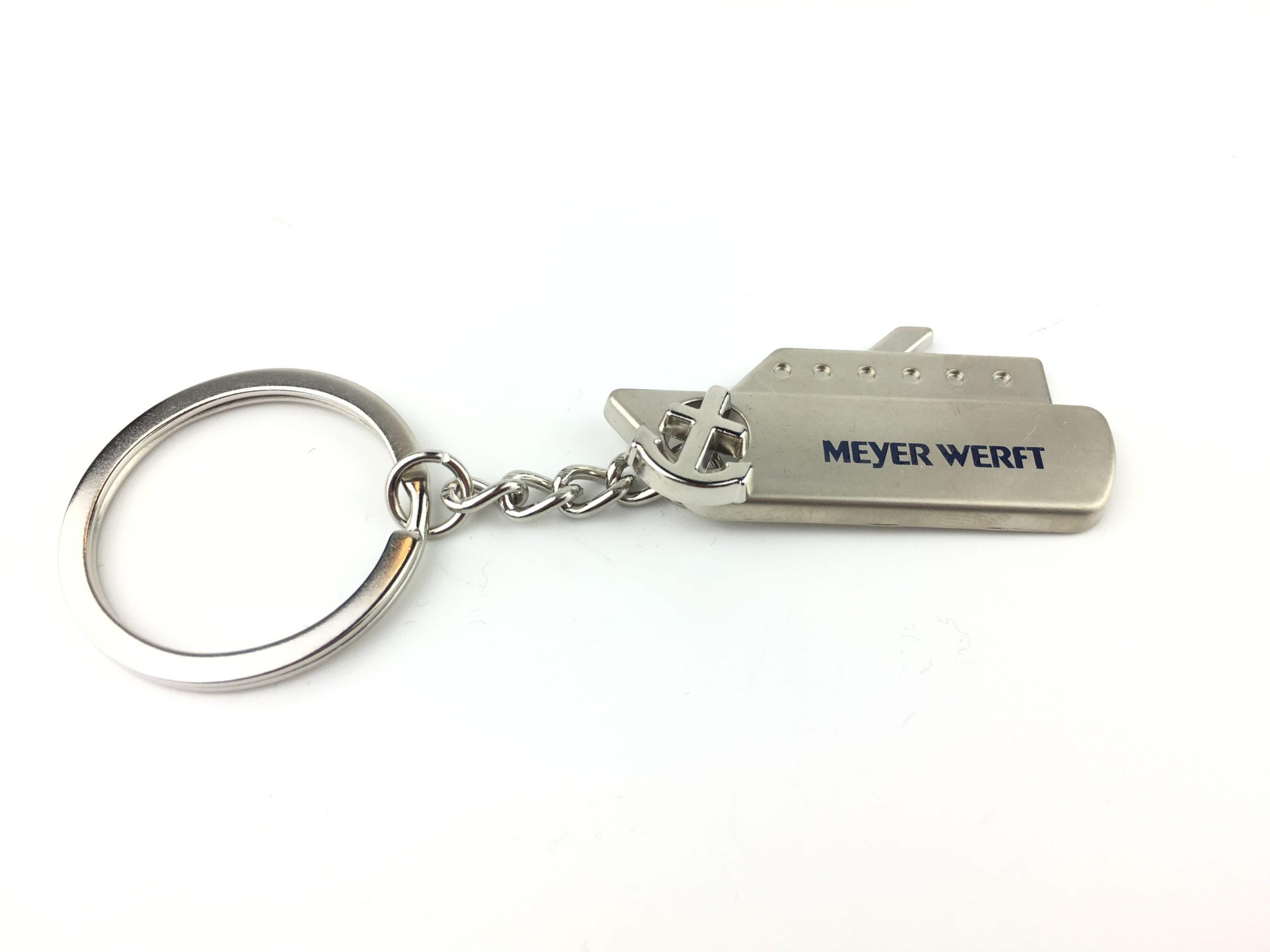 Schlüsselanhänger Schiff Meyer Werft