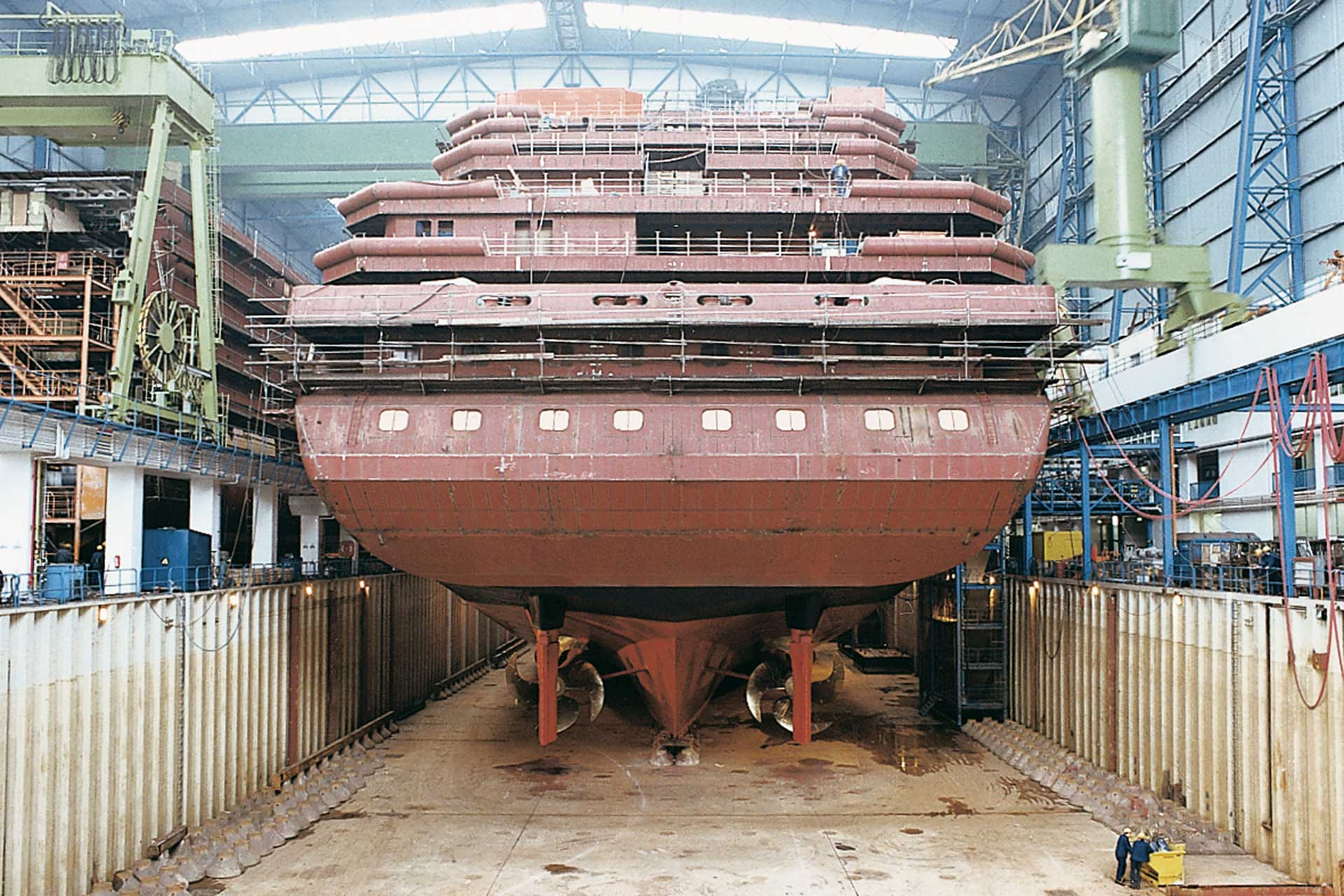 Zenith wird zum Peace Boat