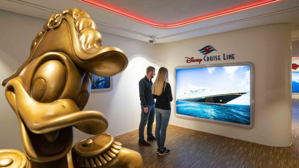 Die Philosophie von Disney Cruise Line wird im Besucherzentrum MEYER WERFT erlebbar. Foto: Dietmar Denger