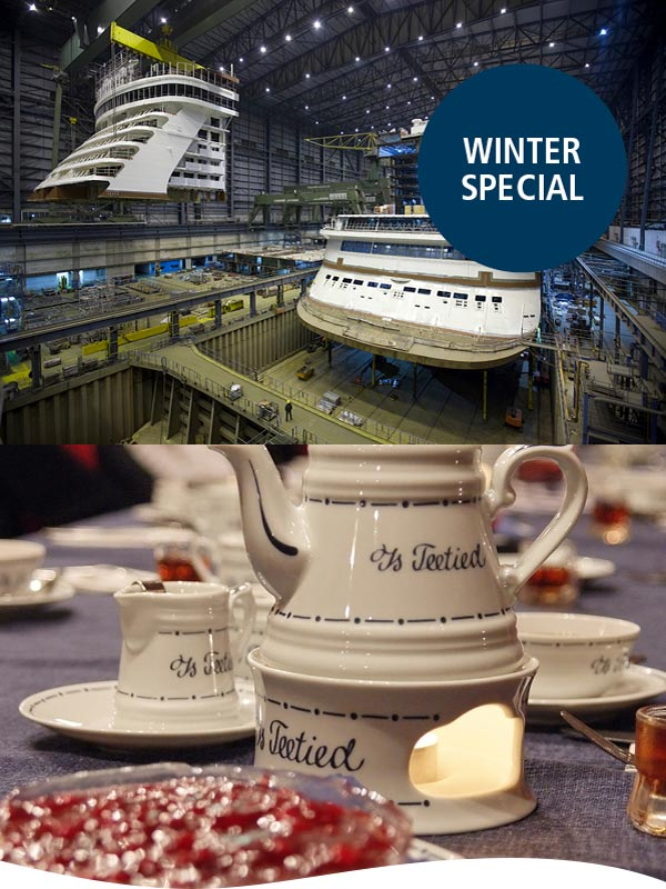 winterspecial besucherzentrum meyer werft