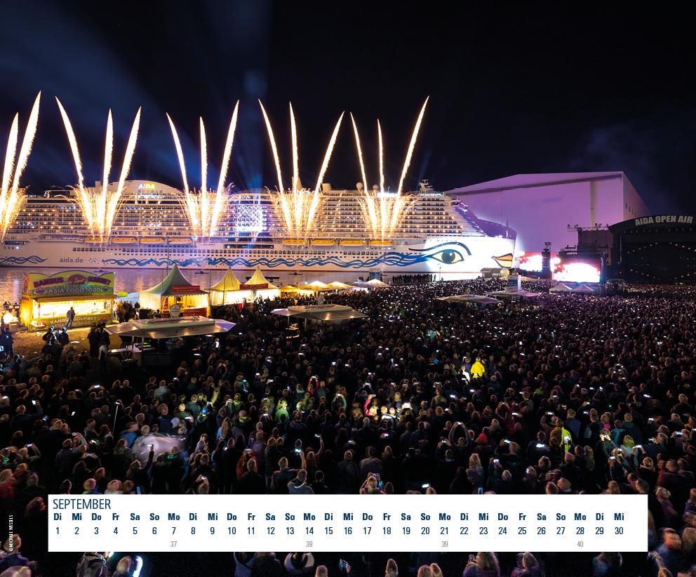 Fotokalender MEYER WERFT 2020 September