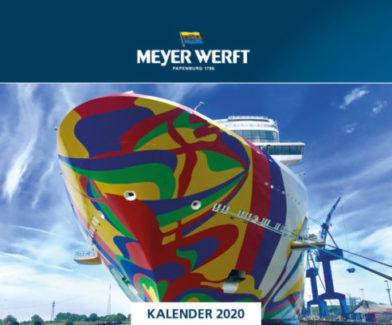 Fotokalender MEYER WERFT 2020