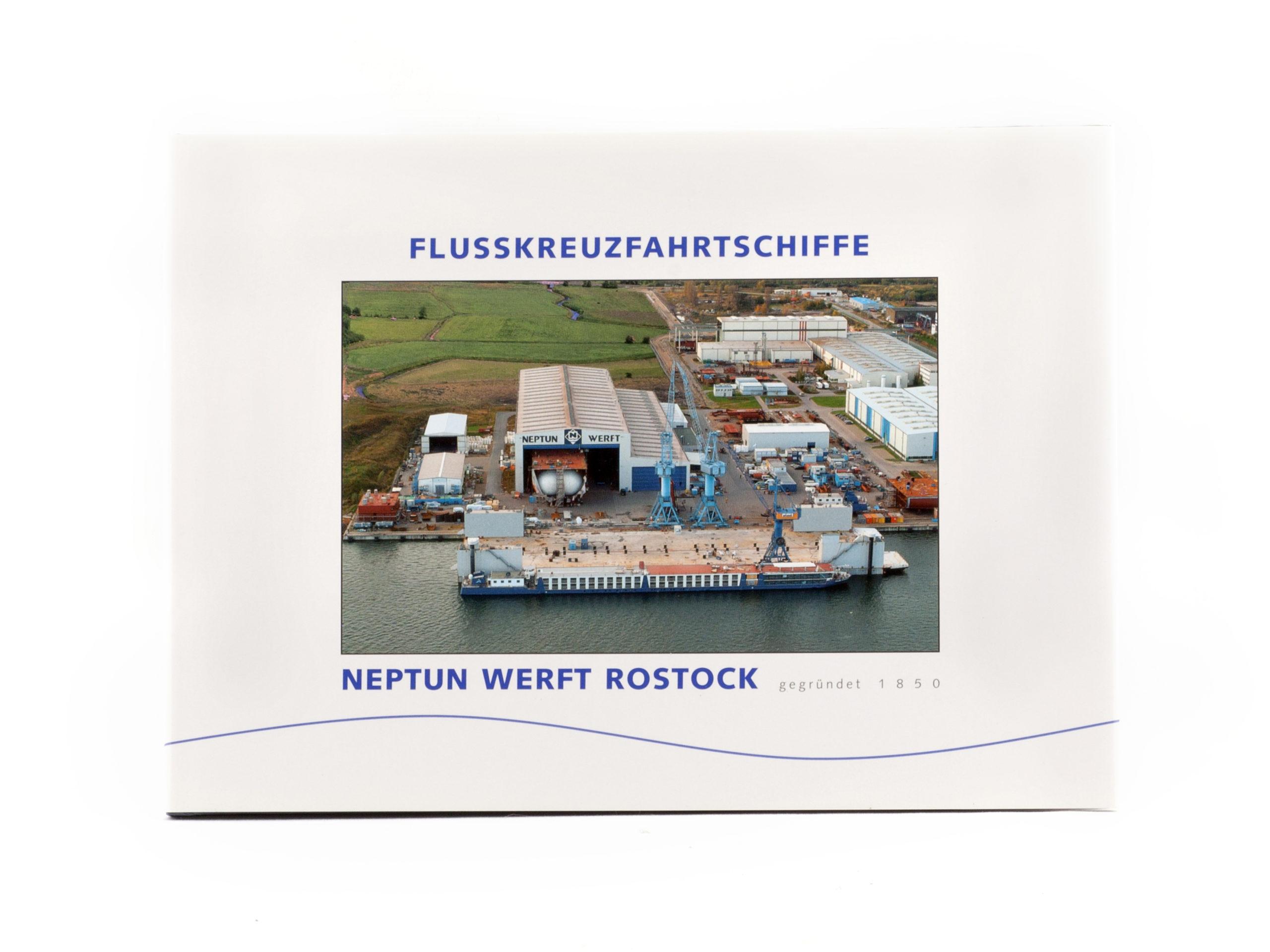 Jahrbuch Flusskreuzfahrtschiffe NEPTUN WERFT