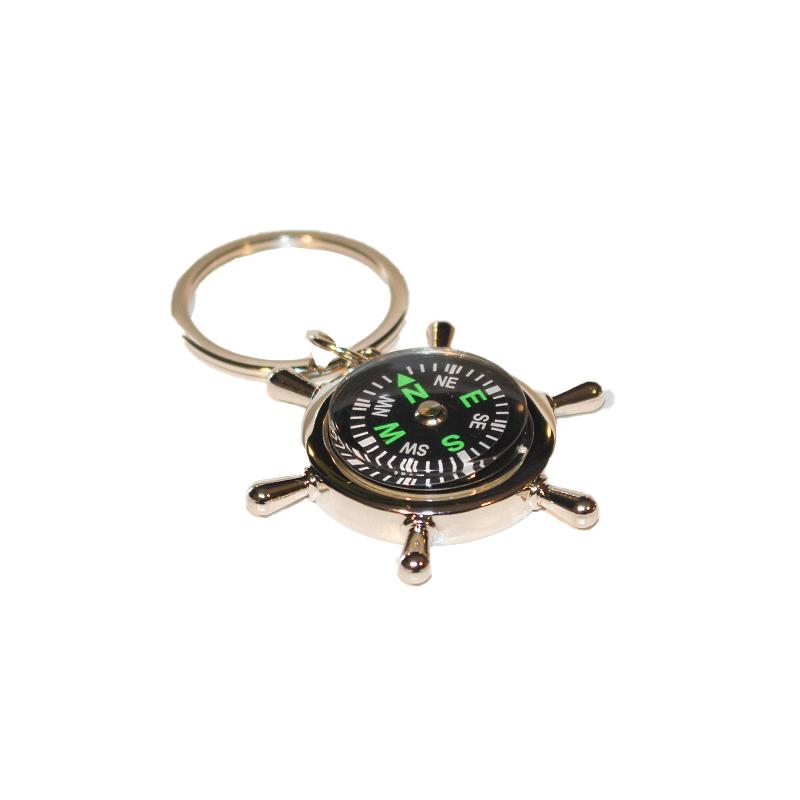 Schlüsselanhänger Kompass MEYER WERFT Vorderansicht