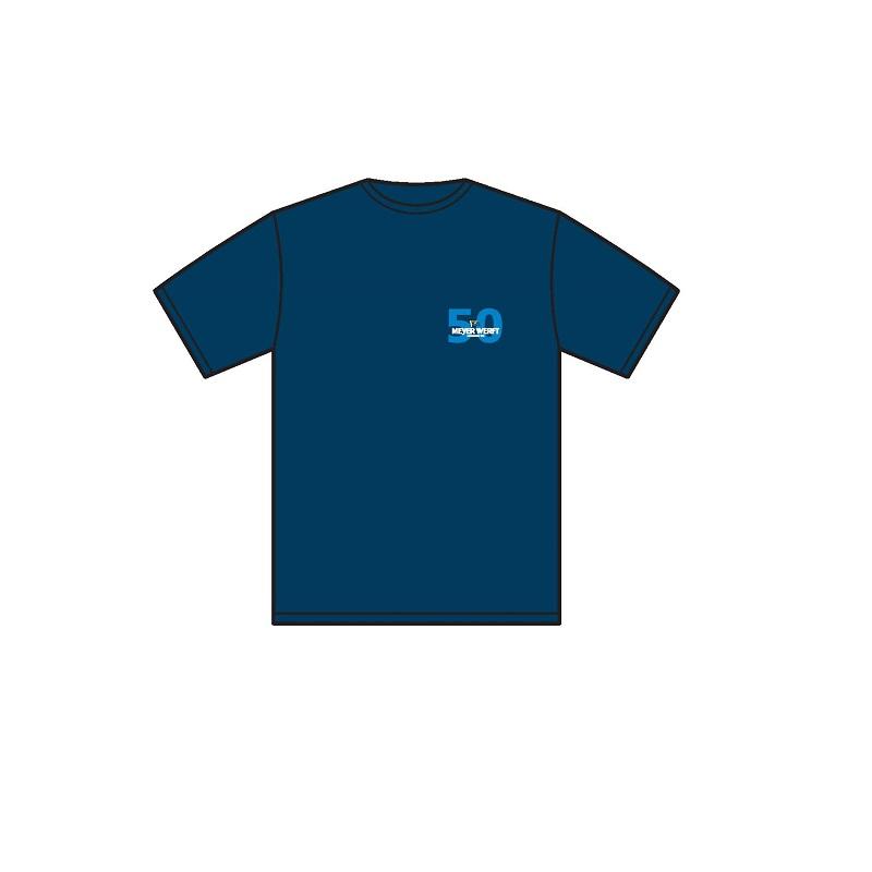 T-Shirt 50 Kreuzfahrtschiffe Vorderseite