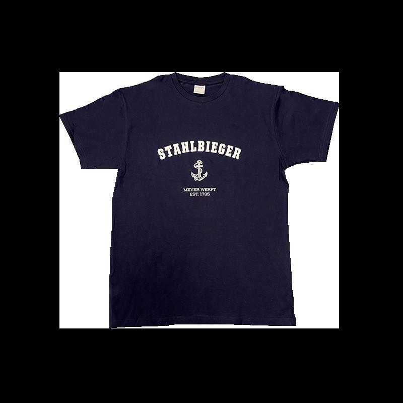 T-Shirt Stahlbieger dunkelblau