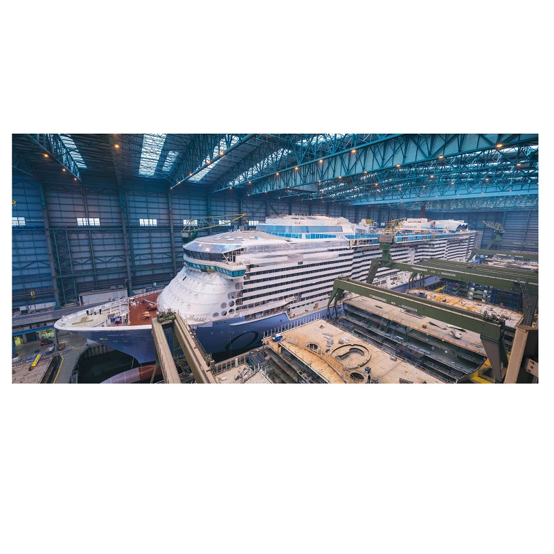 Postkarte Odyssey of the Seas im Baudock